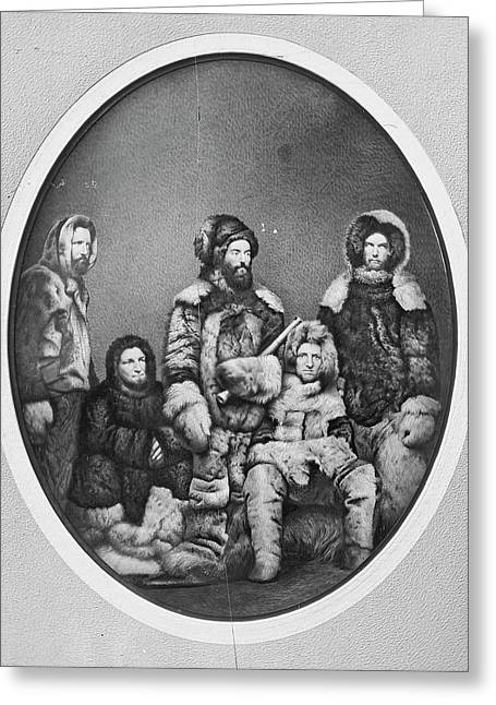 Second Grinnell Expedition Greeting Card by Us National Archives