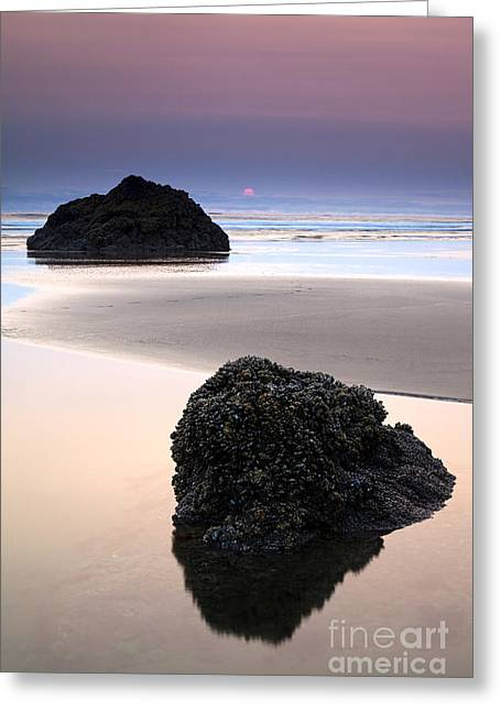 Second Rock From The Sun Greeting Card by Mike  Dawson