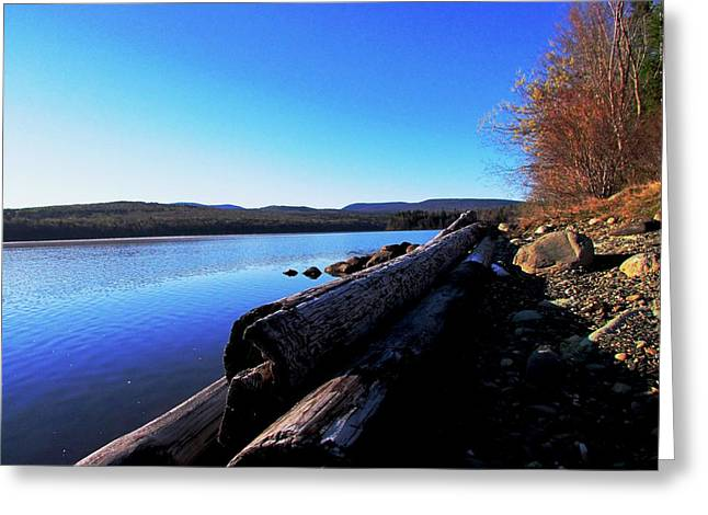 Second Shoreline Greeting Card by Will Boutin Photos