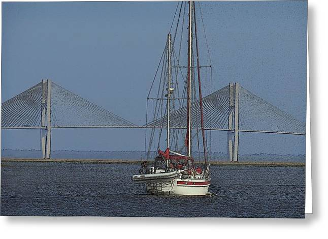 Greeting Card featuring the photograph Second Wind by Laura Ragland