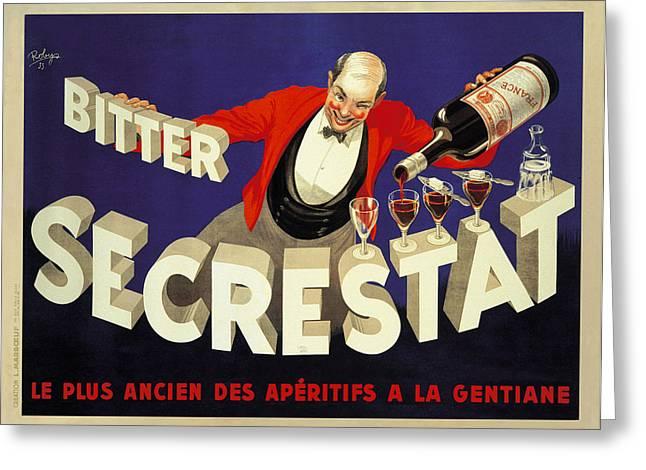 Secrestat 1935 Greeting Card