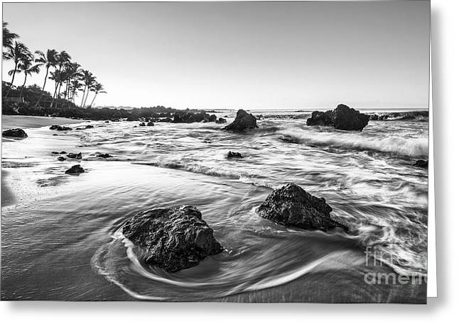 Secret Beach Morning Greeting Card by Jamie Pham