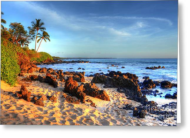 Secret Cove  Greeting Card by Kelly Wade