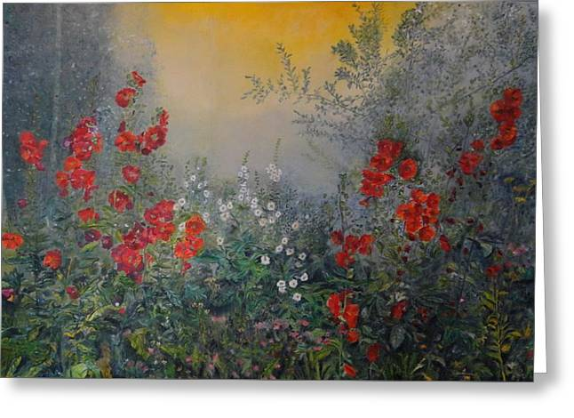 Secret Garden 110x180 Cm Greeting Card