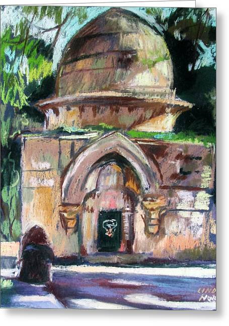 Secret Jerusalem Temple Greeting Card