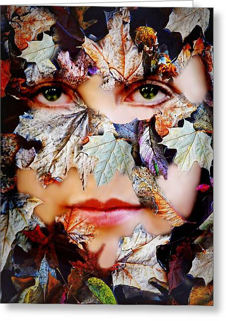 Secrets Greeting Card by Diana Angstadt