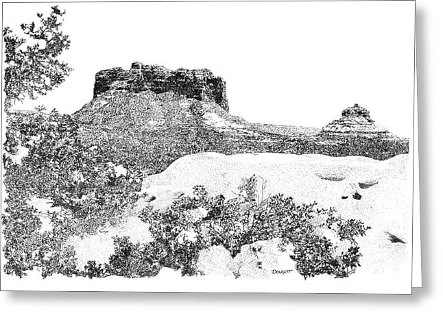 Sedona 1 Greeting Card