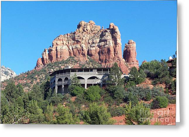 Sedona 4 Greeting Card