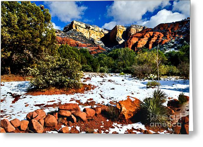 Sedona Arizona - Wilderness Greeting Card