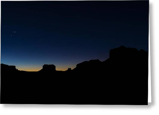 Sedona At Dawn Greeting Card
