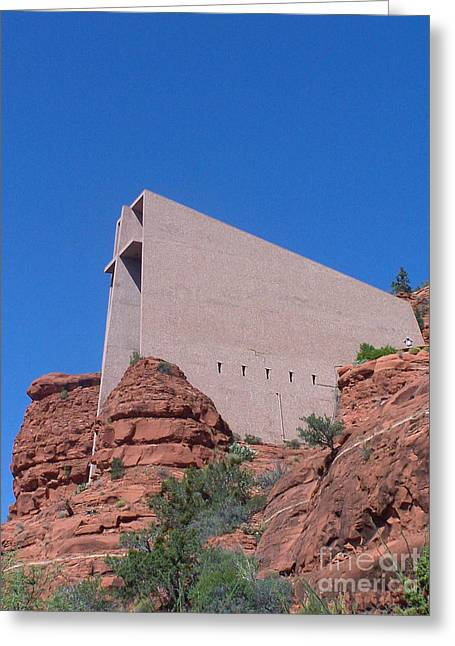 Sedona Chapel 1 Greeting Card