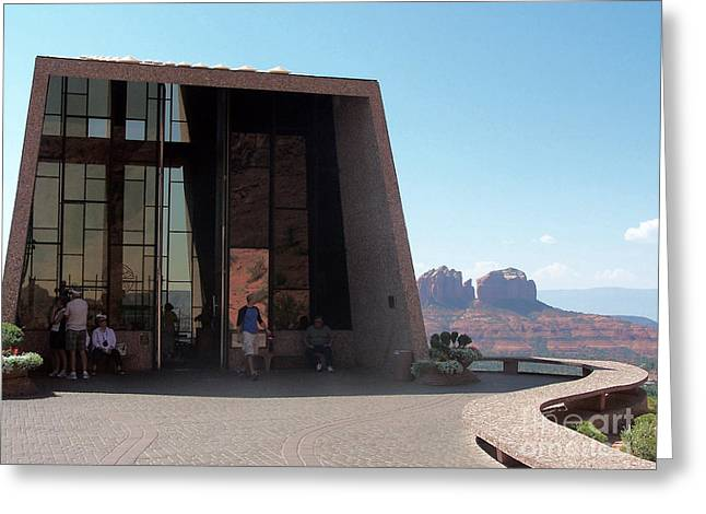 Sedona Chapel 2 Greeting Card