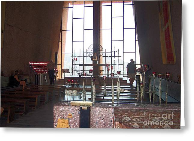 Sedona Chapel 3 Greeting Card