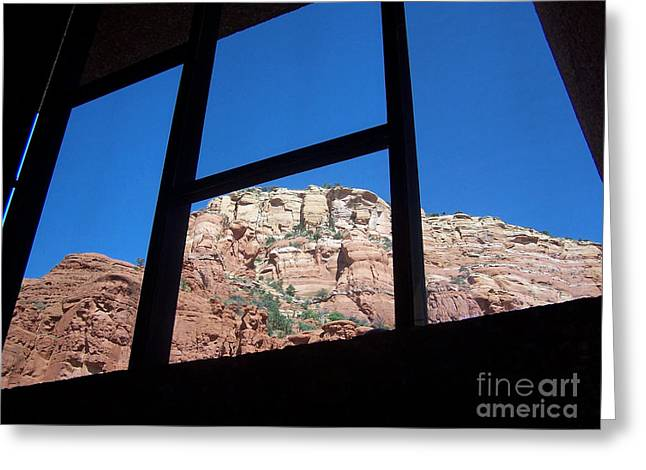 Sedona Chapel 4 Greeting Card