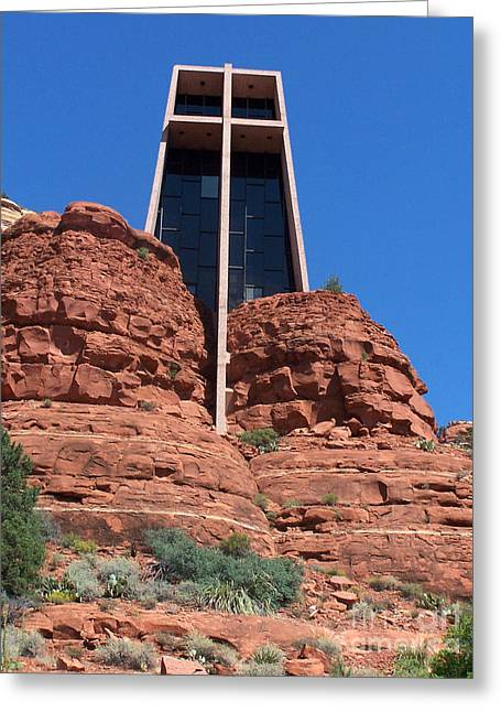 Sedona Chapel 5 Greeting Card