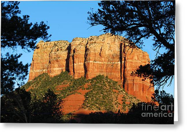 Sedona Courthouse Butte  Greeting Card