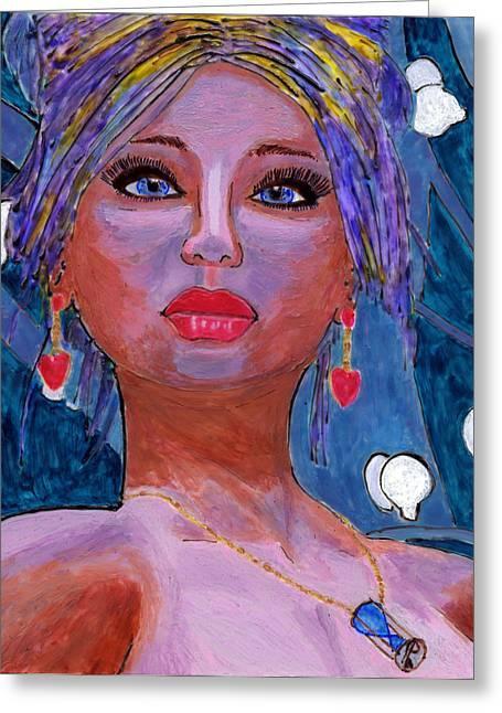 Sedona Moonlight Greeting Card
