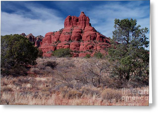 Sedona Red Rock Formations Greeting Card