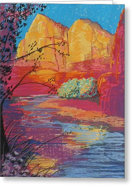 Sedona Sunrise Greeting Card