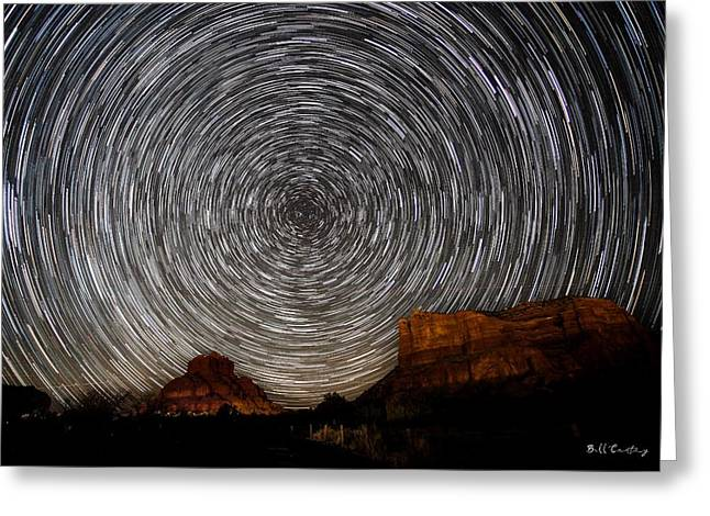 Sedona Trails Greeting Card by Bill Cantey