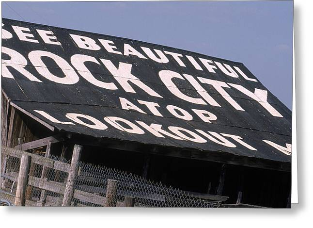 See Rock City Greeting Card