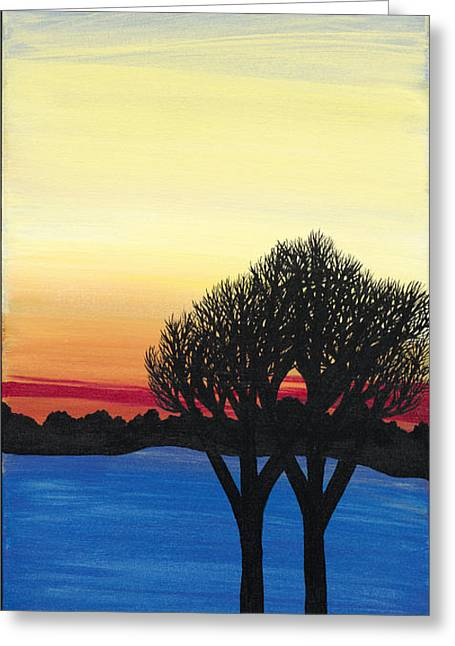 Seed Of A New Beginning Greeting Card by Melissa F Kaelin