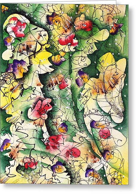 Seeds Of Creation Greeting Card