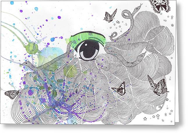 Seeing Life Through My Eyes Greeting Card by Terry Fleckney