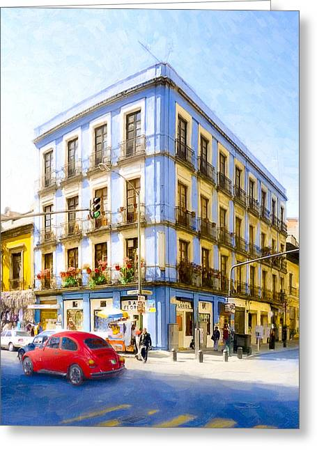 Seeing Mexico City From The Streets Greeting Card by Mark E Tisdale