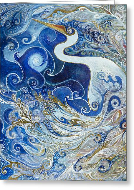 Seeking Balance Greeting Card