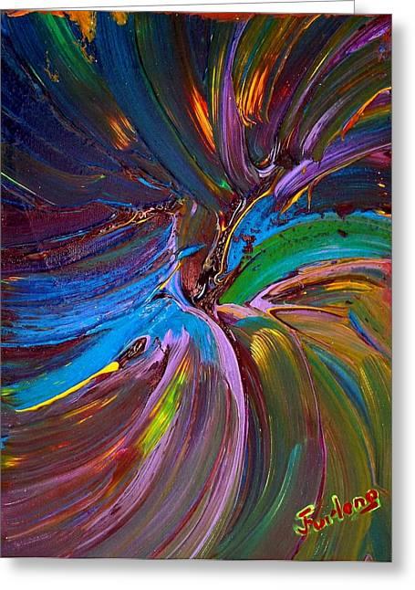 Seeking Heaven Greeting Card by Jim  Furlong