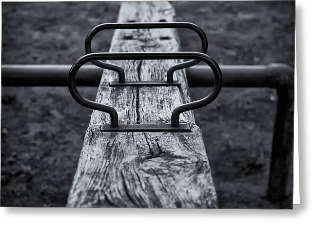 Seesaw Greeting Card by Rscpics