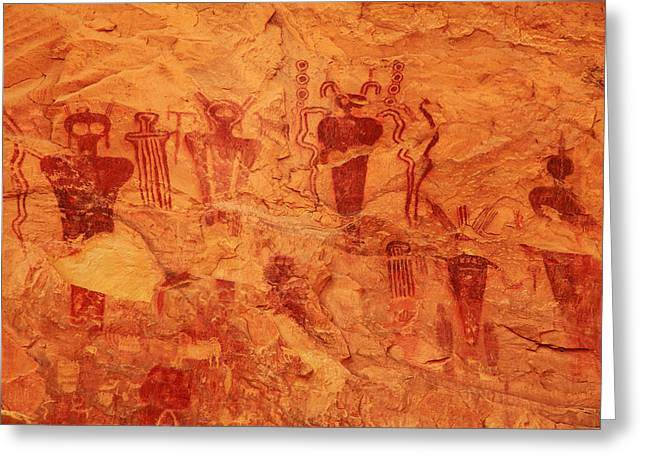 Sego Canyon Rock Art Greeting Card
