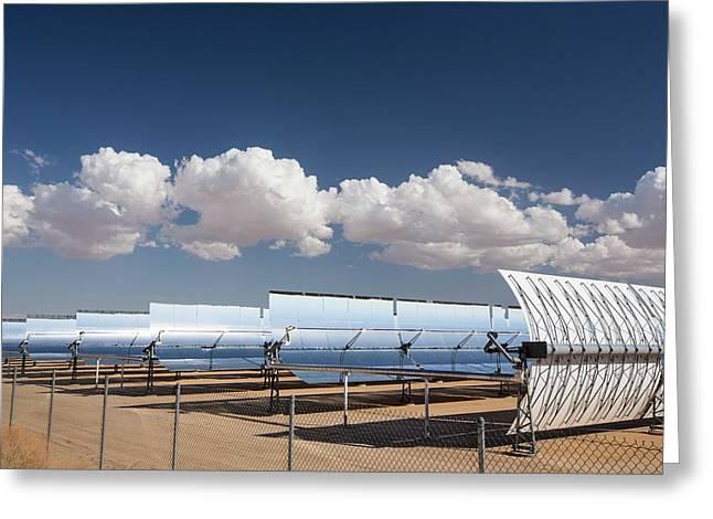 Segs Solar Power Plant Greeting Card by Ashley Cooper