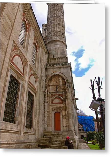 Sehzade Mosque 15 Greeting Card by Antony McAulay