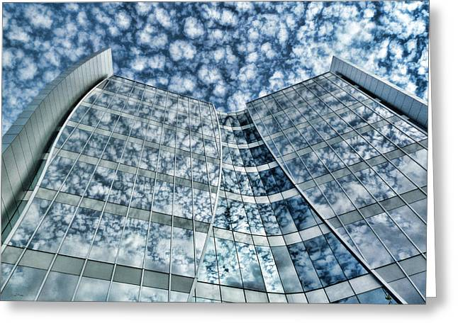 Greeting Card featuring the photograph Seidman Cancer Center - Cleveland Ohio - 1 by Mark Madere