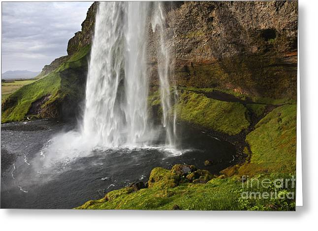 Selandsfoss In Iceland Greeting Card