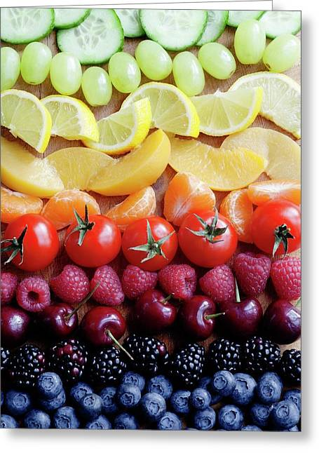 Selection Of Fruit Greeting Card