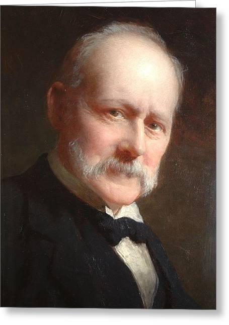 Self Portrait, 1899 Greeting Card by George Elgar Hicks