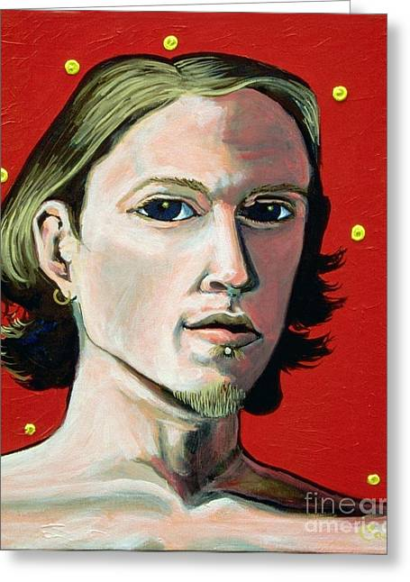 Self Portrait 1995 Greeting Card