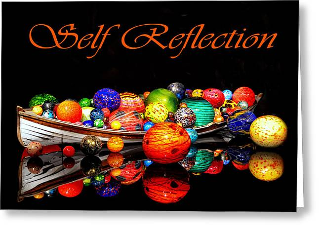 Self Reflection Greeting Card