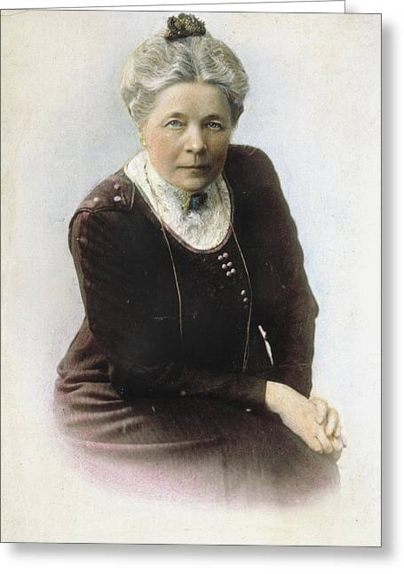 Selma Lagerl�f (1858-1940) Greeting Card by Granger