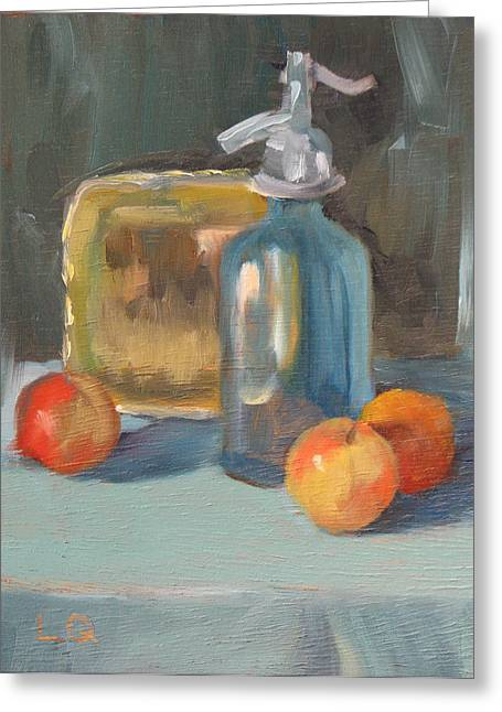 Seltzer greeting cards page 5 of 5 fine art america seltzer and apples greeting card m4hsunfo