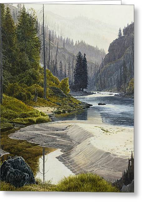 Selway River Greeting Card