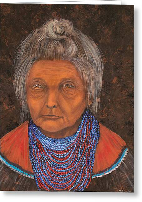 Seminole Elder Greeting Card