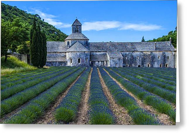 Senaque Abbey - Provence Greeting Card