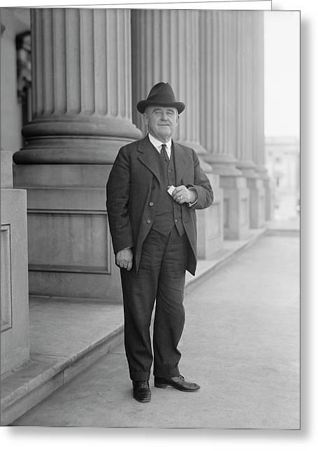 Senator William Brown Mckinley, Circa Greeting Card by Stocktrek Images