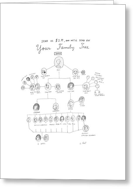 Send Us $2.00 Greeting Card by Roz Chast