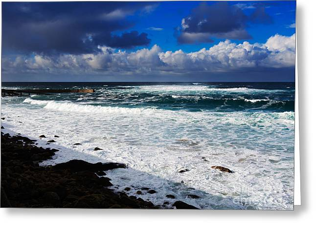 Sennen Cove In Cornwall Greeting Card by Louise Heusinkveld
