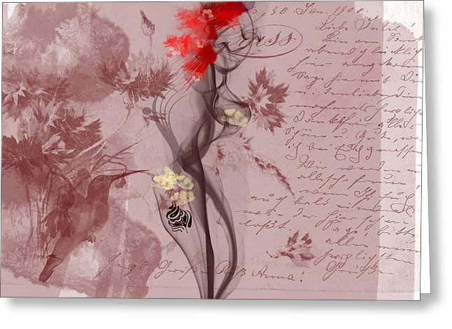 Senses Greeting Card by Velitchka Sander